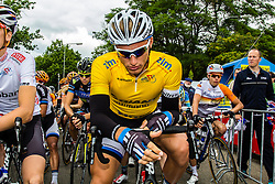 Race leader Marcel KITTEL (GER, GIA) getting ready for the start Stage 3 Buchten - Buchten, Ster ZLM Toer, Buchten, The Netherlands, 20th June 2014, Photo by Thomas van Bracht / Peloton Photos