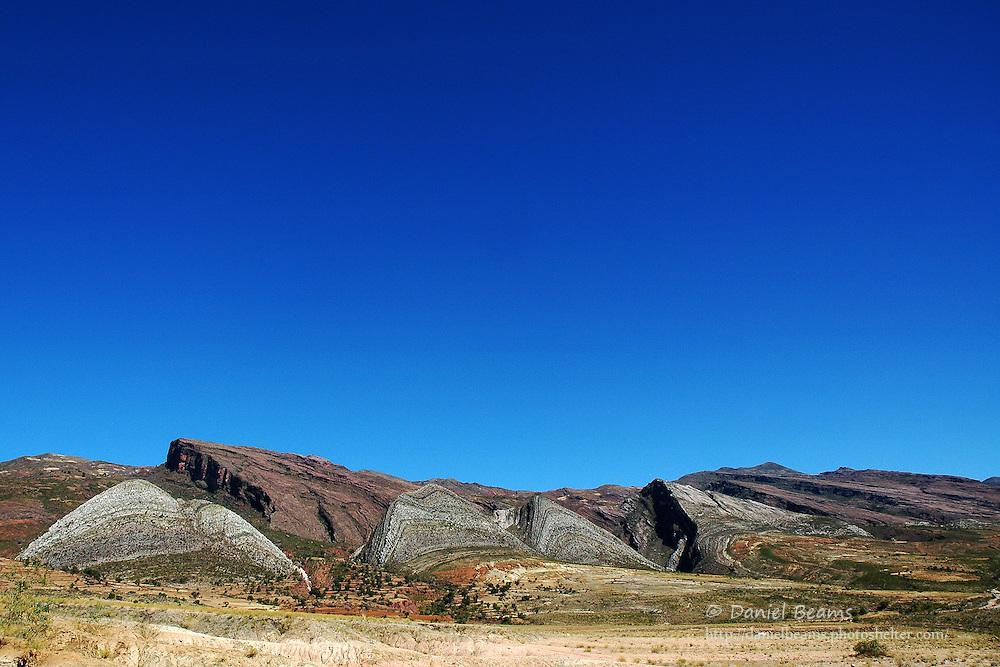 Mountain Landscape in Torotoro, Bolivia