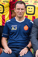 Mechelen's head coach Serbian Aleksandar Jankovic pictured during the 2015-2016 season photo shoot of Belgian first league soccer team KV Mechelen, Wednesday 15 July 2015 in Mechelen.