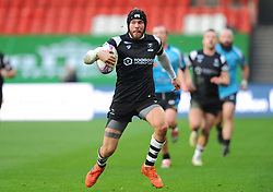 Ryan Edwards of Bristol Bears runs with the ball - Mandatory by-line: Nizaam Jones/JMP - 19/01/2019 - RUGBY - Ashton Gate Stadium - Bristol, England - Bristol Bears v Enisei-STM - European Rugby Challenge Cup