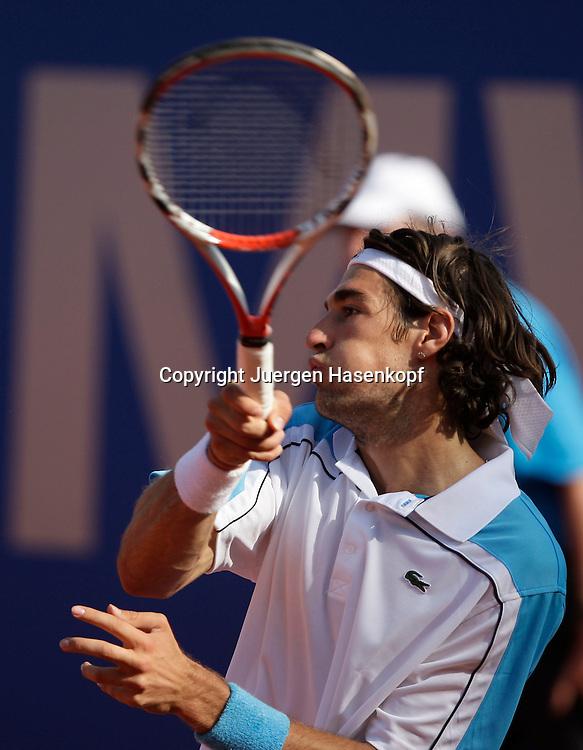 BMW Open 2009, Muenchen, Sport, Tennis,  International Series ATP  Tournament,  Jeremy Chardy ..(FRA),,Aktion..Foto: Juergen Hasenkopf