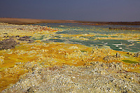 Sulfer pools in Dallol