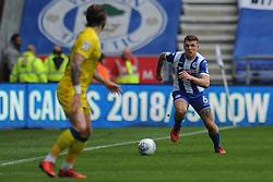 Max Power of Wigan Athletic controls the ball - Mandatory by-line: Greig Bertram/JMP - 28/04/2018 - FOOTBALL - DW Stadium - Wigan, England - Wigan Athletic v AFC Wimbledon -