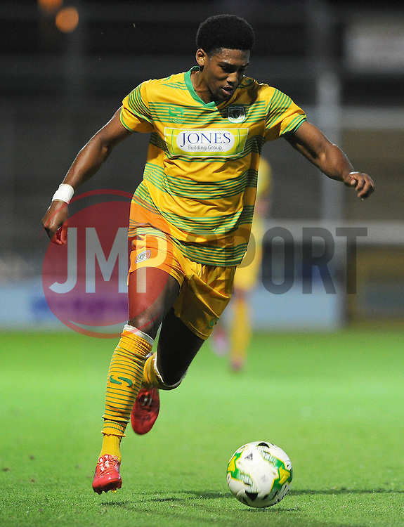 Yeovil Town's Shaun Jeffers - Photo mandatory by-line: Harry Trump/JMP - Mobile: 07966 386802 - 30/07/15 - SPORT - FOOTBALL - Pre Season Fixture - Yeovil Town v Bristol City - Huish Park, Yeovil, England.