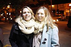 Danielle and Emily Furtch outside Argosy in Atlanta, Friday, Dec. 09, 2016 at Grant Park in Atlanta .