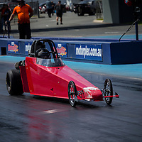 Tyson Liddiard (1559) in his Junior Dragster.