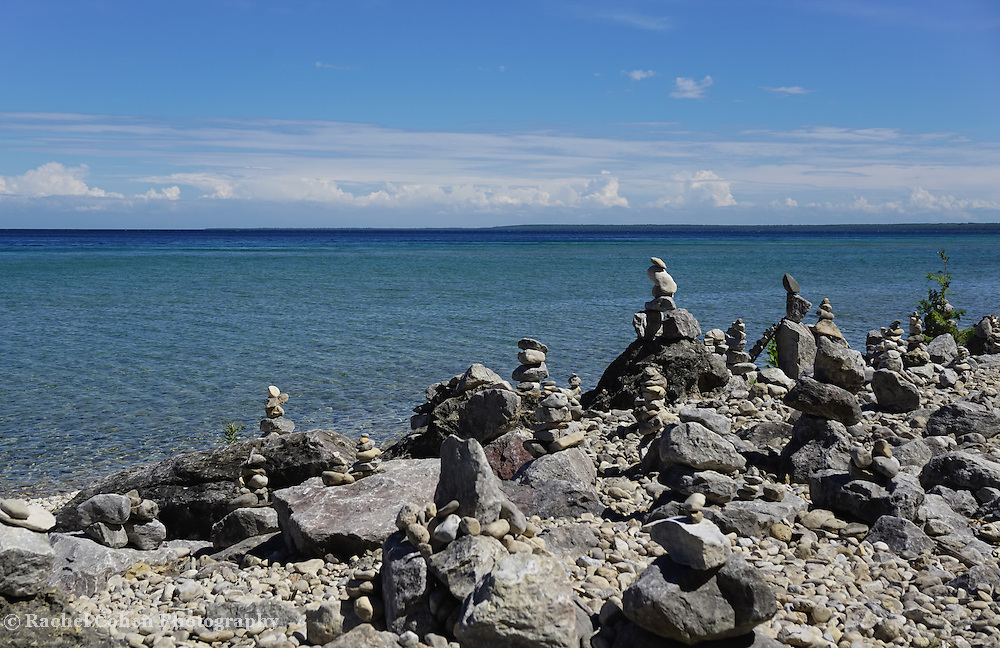 &quot;Cairn on Mackinac Island&quot; <br />