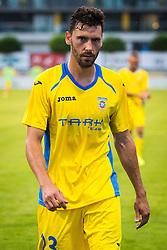 Mario Lucas Horvat of NK Domzale during football match between NK Domzale and FC Lusitanos Andorra in first match of UEFA Europa League Qualifications, on June 30, 2016 in Sports park Domzale, Domzale, Slovenia. Photo by Ziga Zupan / Sportida