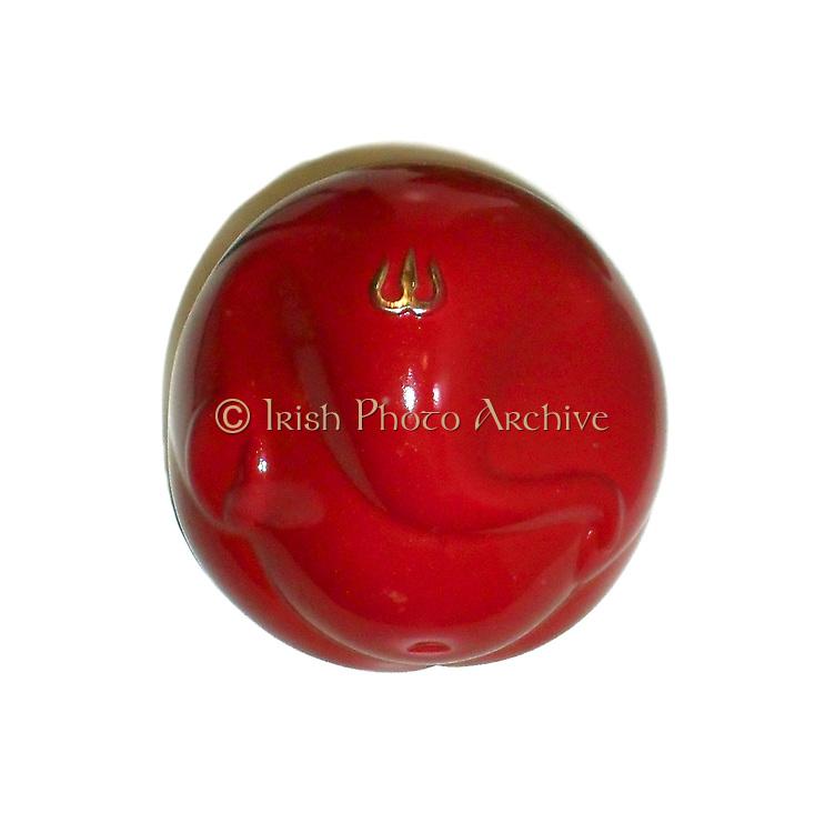 stylised ganesha (hindu god of wisdom). Plastic moulded from Maharastra, India. 21st century
