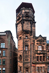 Exterior of The Lighthouse, Scotland's Centre for Design and Architecture ,former Glasgow Herald Building , designed by architect Charles Rennie Mackintosh, Glasgow, United Kingdom