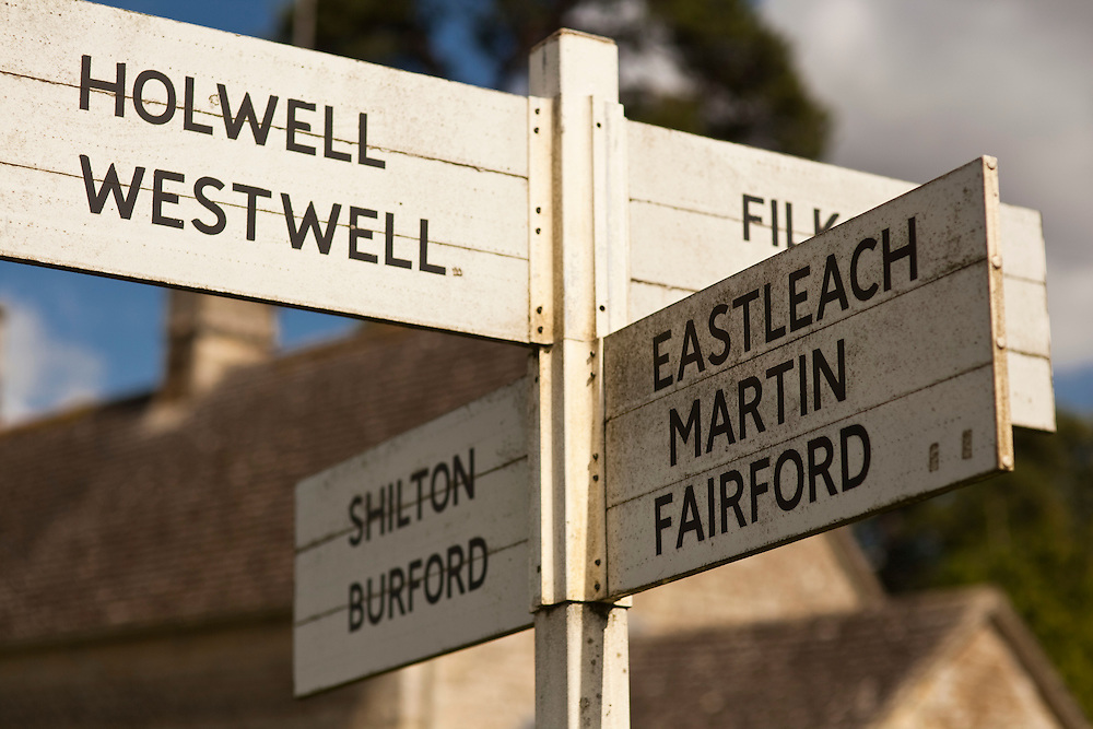 Cotswolds road signs