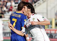 """L'esultanza di Rolando Bianchi (Reggina) dopo il gol dell'1-2<br /> Rolando Bianchi (Reggina) celebrates after scoring goal<br /> Italian """"Serie A"""" 2006-07<br /> 04 Mar 2007 (Match Day 27)<br /> Parma-Reggina (2-2)<br /> """"Ennio Tardini""""-Stadium-Parma-Italy<br /> Photographer: Luca Pagliaricci INSIDE"""