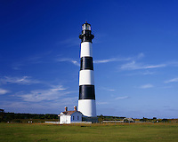 AA05827-02...NORTH CAROLINA - Bodie Island Lighthouse on the Outer Banks in the Cape Hatteras National Seashore.
