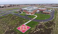 Ripon hospital,agnesian,health care,aerial,drone,uav,