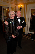 Sir Richard and Lady Attenborough, 24th London Film Critics Circle Awards in aid of the NSPCC , ( AlFS) the Dorchester, 11 February 2004. © Copyright Photograph by Dafydd Jones 66 Stockwell Park Rd. London SW9 0DA Tel 020 7733 0108 www.dafjones.com