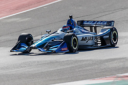 February 12, 2019 - U.S. - AUSTIN, TX - FEBRUARY 12: Takuma Sato (30) in a Honda powered Dallara IR-12 approaches turn 2 during the IndyCar Spring Training held February 11-13, 2019 at Circuit of the Americas in Austin, TX. (Photo by Allan Hamilton/Icon Sportswire) (Credit Image: © Allan Hamilton/Icon SMI via ZUMA Press)