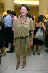 THOMASINA MIERS  winner of BBC 2's 2005 MasterChef competition at a party hosted by Links at their store in Sloane Square, London to celebrate the forthcoming Glorious Goodwood Racing festival held on 26th July 2006.<br />