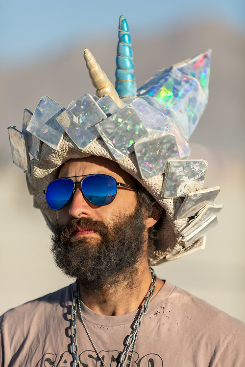 Wizard's piece got bent out of shape so he didn't seem to be in the best mood when I was chatting with him. My Burning Man 2019 Photos:<br />