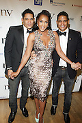 l to r: Shane Ward, Vivica A. Fox and Shawn Ward at The 2009 NV Awards: A Salute to Urban Professionals sponsored by Hennessey held at The New York Stock Exchange on February 27, 2009 in New York City. ....