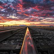 Canyon Diablo Railroad Bridge in Northern Arizona