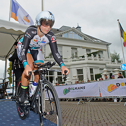 04-09-2015: Wielrennen: Ladiestour: Oosterhout<br /> OOSTERHOUT (NED) wielrennen<br /> De eerste etappe van de Holland Ladies Tour voerde de rensters rond Oosterhout