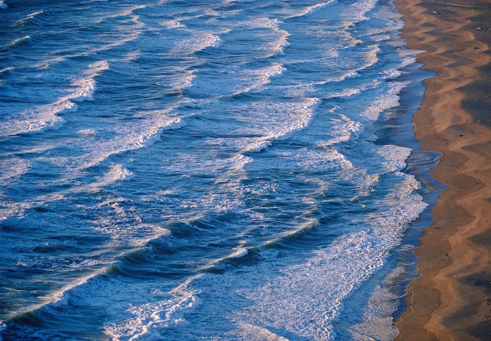 Waves, Point Reyes National Seashore, California, north of San Francisco
