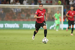 October 14, 2018 - Be'Er Sheva, Israel - Taulant Xhaka (#14) of Albania during UEFA Nations League C group 1 match between Israel and Albania at Turner Stadium in Be'er Sheva, Israel, on 14 October 2018. Israel won 2-0. (Credit Image: © Ahmad Mora/NurPhoto via ZUMA Press)