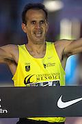 Juan Antonio Cuadrillero winner of San Silvestre popular race