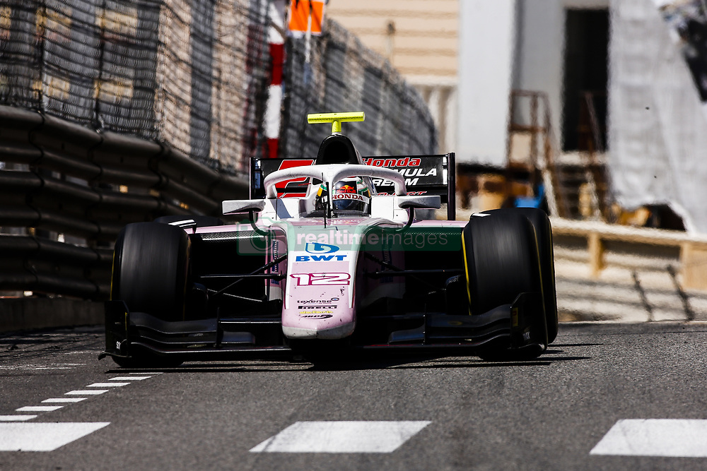 May 25, 2018 - Montecarlo, Monaco - 12 Nirei FUKUZUMI from Japan of BWT ARDEN during the Monaco Formula Two race 1  at Monaco on 25th of May, 2018 in Montecarlo, Monaco. (Credit Image: © Xavier Bonilla/NurPhoto via ZUMA Press)