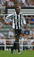 Photo: Andrew Unwin.<br />Newcastle United v PSV Eindhoven. Pre Season Friendly. 29/07/2006.<br />Newcastle's Shola Ameobi.