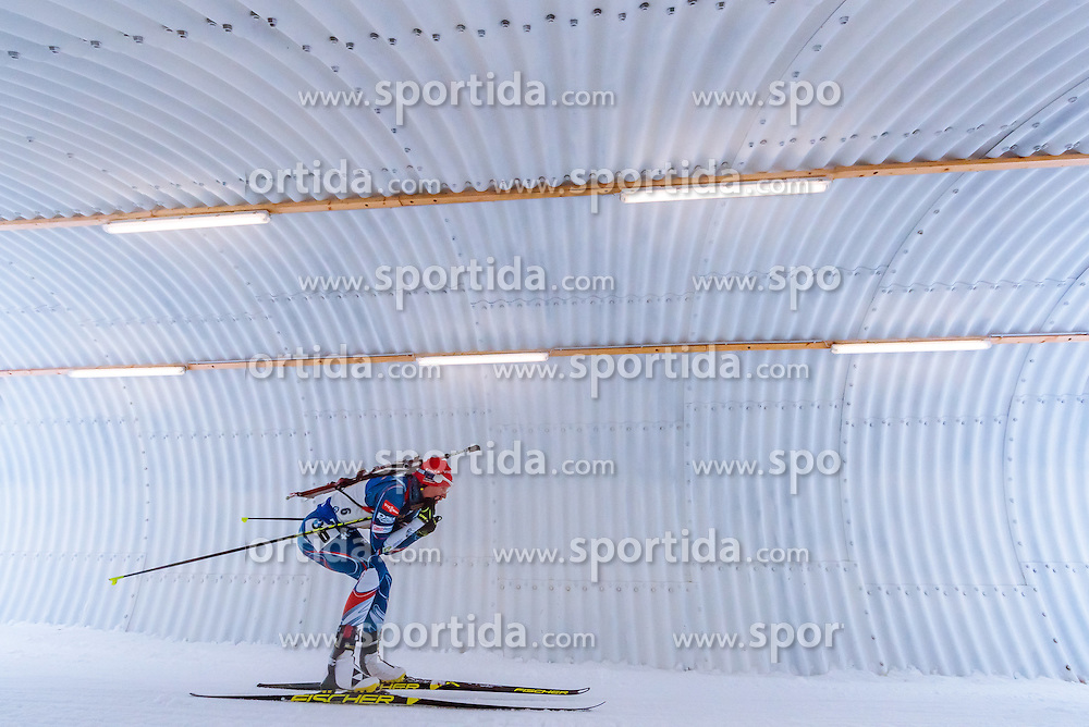 17.02.2017, Biathlonarena, Hochfilzen, AUT, IBU Weltmeisterschaften Biathlon, Hochfilzen 2017, Staffel Damen, im Bild Veronika Vitkova (CZE) // Veronika Vitkova of Czech Republic // during Womens Relay of the IBU Biathlon World Championships at the Biathlonarena in Hochfilzen, Austria on 2017/02/17. EXPA Pictures © 2017, PhotoCredit: EXPA/ JFK