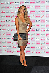 Ola Jordan attends the Comfort Prima High Street Fashion Awards at Battersea Evolution on Thursday 13th  September 2012 in London,  Photo by: Chris Joseph / i-Images