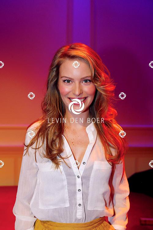HILVERSUM - In Studio21 hield RTL5 de perspresentatie van hun nieuwe dagelijkse soap 'Malaika'.  Met op de foto actrice Melissa Drost. FOTO LEVIN DEN BOER - PERSFOTO.NU