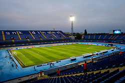 Stadium Maksimir before football match between GNK Dinamo Zagreb, CRO and Arsenal FC, ENG in Group F of Group Stage of UEFA Champions League 2015/16, on September 16, 2015 in Stadium Maksimir, Zagreb, Croatia. Photo by Urban Urbanc / Sportida