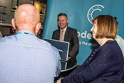 Pictured: Derek Mackay<br /><br />Economy Secretary Derek Mackay visited CodeClan – an industry-led digital skills academy – in Edinburgh today where he commented on the latest GDP statistics.<br /><br />Mr Mackay met CodeClan CEO Melinda Matthews-Clarkson and students, Delphine Rabiller, John Binnie, Blair Fallis, Leah Hart and David Baird during his visit. <br /><br />Ger Harley | EEm 18 September 2019