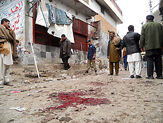 FEB 01 2013 Blast Site in Hangu