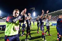 Joie Bordeaux - Gregory SERTIC - 12.04.2015 - Bordeaux / Marseille - 32eme journee de Ligue 1 <br /> Photo : Caroline Blumberg / Icon Sport