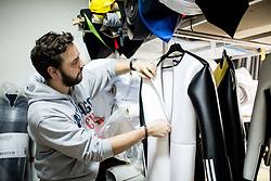 Miha Svetina during Production of Ski Jumping suits at Dali sport d.o.o., on December 6, 2016 in Lesce, Slovenia. Photo by Vid Ponikvar / Sportida