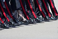 Jordanian & Luxembourg Royals Attend Sandhurst Parade