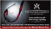 Advertising Photo shoot of a red wine pour for Methven Family Vineyards photographed in my studio. Used for promotions and advertising