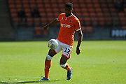 Blackpool Defender, Michael Nottingham (12)  during the EFL Sky Bet League 1 match between Blackpool and Accrington Stanley at Bloomfield Road, Blackpool, England on 25 August 2018.