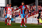 Scunthorpe United forward Kyle Wootton (29)  during the EFL Sky Bet League 1 match between Scunthorpe United and Doncaster Rovers at Glanford Park, Scunthorpe, England on 23 February 2019.