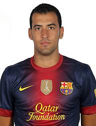 F.C. Barcelona 2012 / 2013. Sergio Busquets...Photo: Gregorio / ALFAQUII