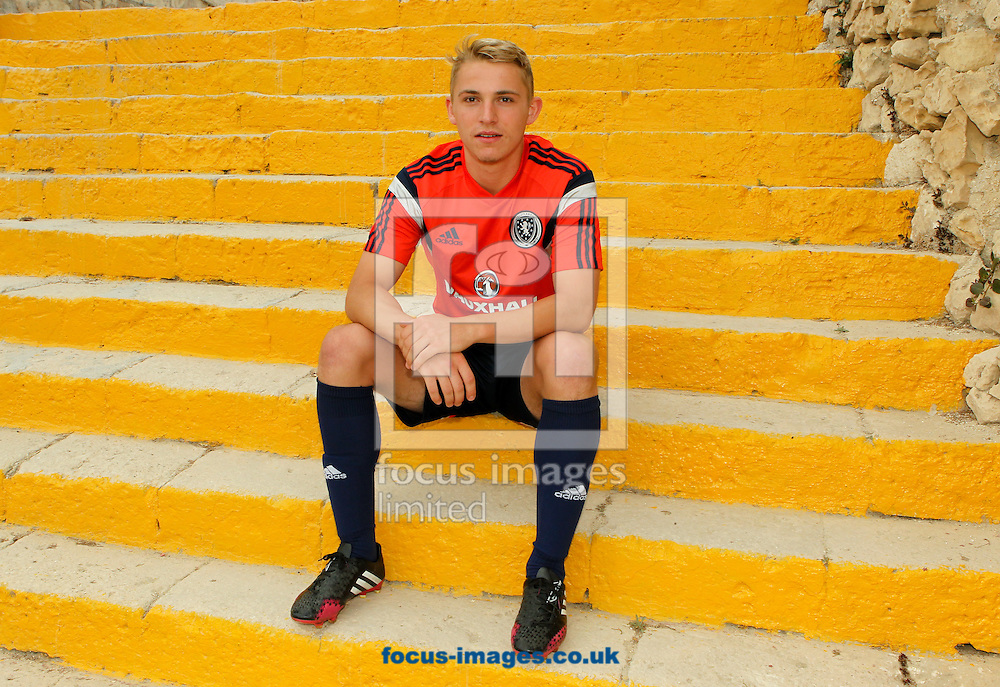 Jake Sheppard at Hibernians Stadium, Paola<br /> Picture by Tom Smith/Focus Images Ltd 07545141164<br /> 17/05/2014