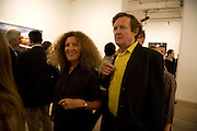 NICOLE FAHRI; DAVID HARE, Mario Testino: Obsessed by You -  private view<br />