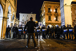 March 29, 2019 - Padua, Italia, Italy - People take part in a No Global anti-fascism demonstration in Padua, Italy, on March 29, 2019. (Credit Image: © Roberto Silvino/NurPhoto via ZUMA Press)