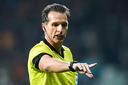 December 13, 2018 - Istanbul, Turkey - 181213 Referee during Luca Bonti the Europa league match between Besiktas and MalmÅ¡ FF on December 13, 2018 in Istanbul..Photo: Petter Arvidson / BILDBYRN / kod PA / 92175 (Credit Image: © Petter Arvidson/Bildbyran via ZUMA Press)