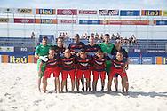 The Barcelona team have their photo taken at the Mundialito de Clubes 2015 - Foto: Priscila Gonzalez/Divulgação