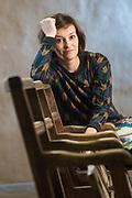 20160216 LEUVEN OPEK Tina Maerevoet actress THUIS poses for the photographer pict FRANK ABBELOOS