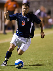 Virginia Cavaliers forward Chase Neinken (6) in action against Hofstra.  The Virginia Cavaliers defeated the Hofstra Pride 4-2 in NCAA men's soccer at Klockner Stadium on the Grounds of the University of Virginia in Charlottesville, VA on September 7, 2008